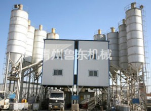 How to Control Dust in Production Site of Modern Concrete Mixing Plant