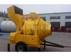 JZR500 full diesel hydraulic cylinder feeding mixer